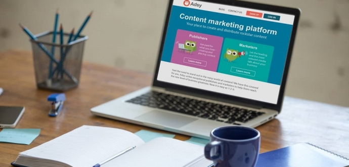 Content Marketing Benefits with Adsy
